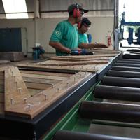 Deck Tiles sendo fabricado em Belem Brazil