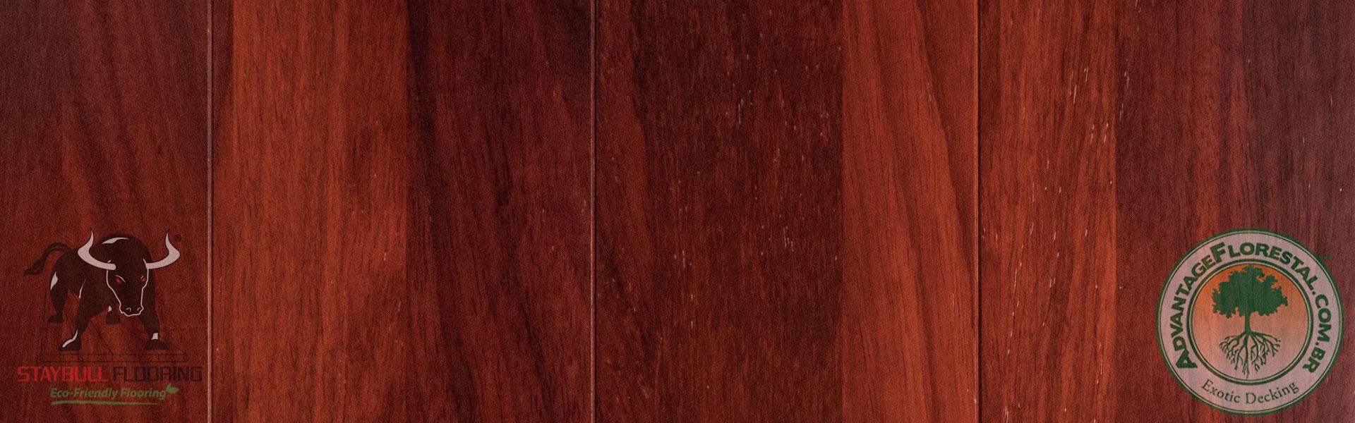 Staybull African Padauk eco-friendly exotic hardwood flooring