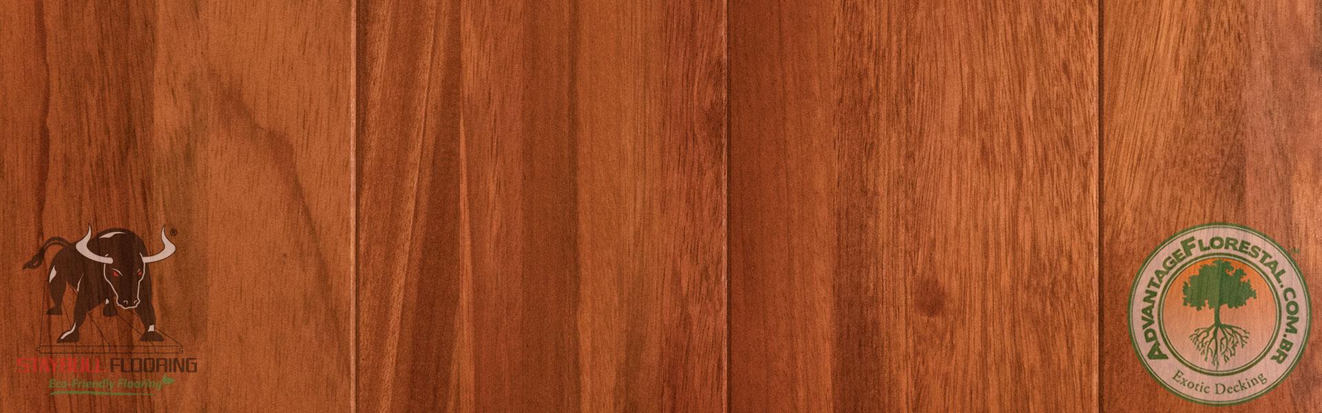Staybull Bubinga eco-friendly exotic hardwood flooring