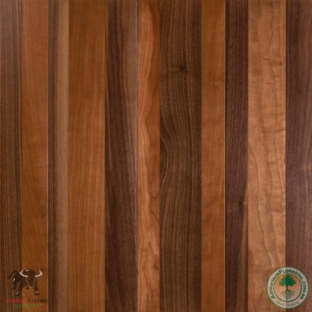 Staybull Cherry Walnut Hardwood Flooring